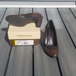 brown pumps soze 8.5